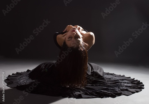 Fotografie, Obraz  woman longing alone