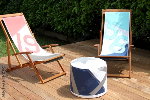 terrasse en bois exotique et salon de jardin – kaufen Sie ...