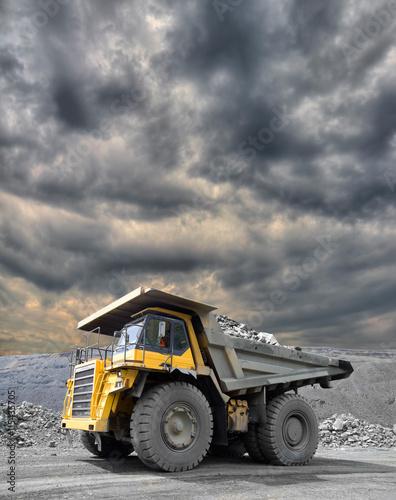 Plakat Mining Truck