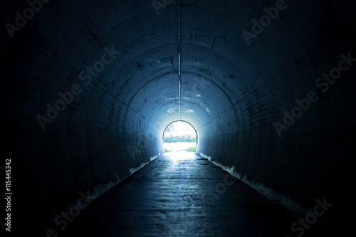 Tuinposter Tunnel トンネル