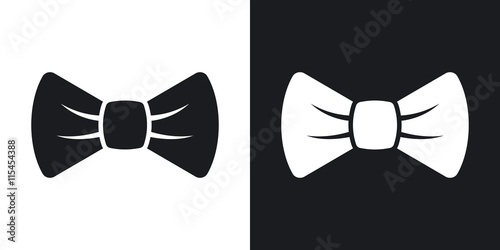 Fotografiet Vector bow tie icon