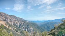Angeles Crest Scenic Highway, San Gabriel Mountains, Angeles National Forest, CA