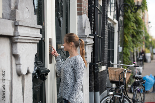 Photographie  girl in Amsterdam