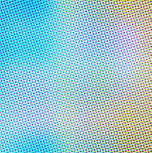 Abstract Background In Color Halftone Effect