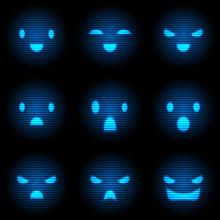 Robot Smile Set
