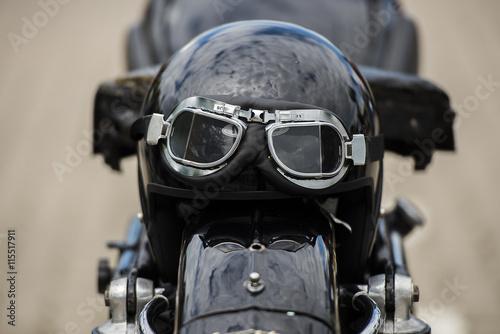 mata magnetyczna Motorradhelm