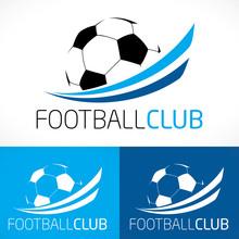 Logo Football Club Sport Moderne