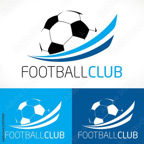 Fotografie, Obraz  logo football club sport moderne