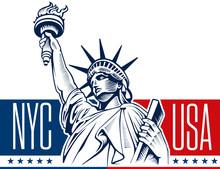 Statue Of Liberty, NYC, USA Symbol