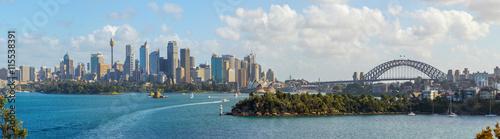 Tuinposter Sydney Sydney skyline panorama