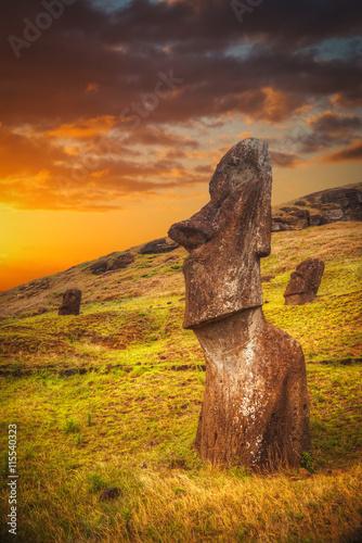 fototapeta na szkło Easter island