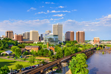 Richmond, Virginia Skyline