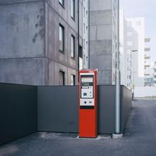 Sweden, Skane, Malmo, Parking Meter On Street