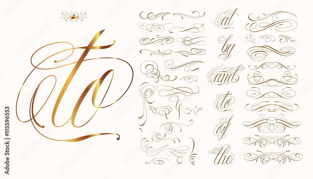 Fototapety, obrazy: Hand drawn tattoo set