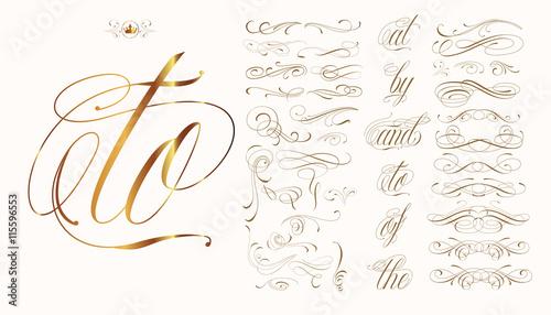 Fotografie, Obraz  Hand drawn tattoo set
