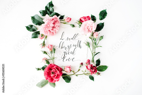 white flowers love quotes