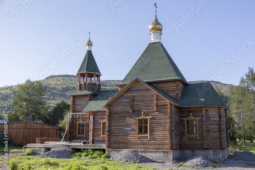 Fotografija  Kirche in Esso - Kamtschatka - Sibirien - Russland