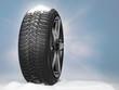 Snowy winter tyres