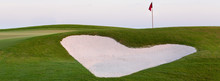 Heart Shaped Sand Bunker In Fr...