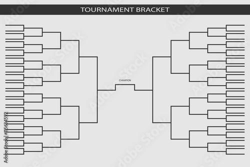 Soccer Baseball Tournament Bracket For Your Design Champion Sh
