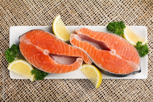 Salmon. Canvas Print