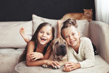 Children With Pet
