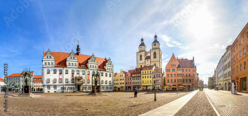 Fotografie, Obraz  Wittenberg, Lutherstadt
