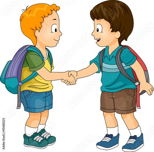 Fotografía  Kids Boys School Introduction