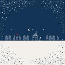 Template For Christmas Design