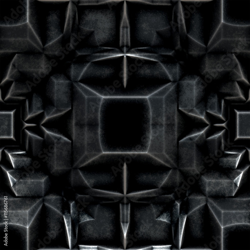 Photo  Dark Metal Seamless Armor 1