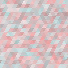 FototapetaGeometric background with triangles. Random colors