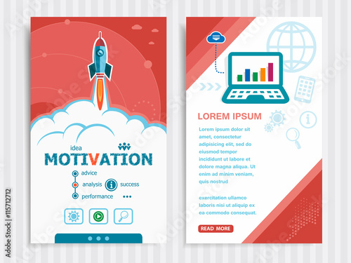 Fotografía  Project Motivation concepts and Set of Banners.