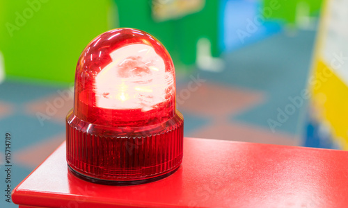Recess Fitting F1 Red Siren light toy