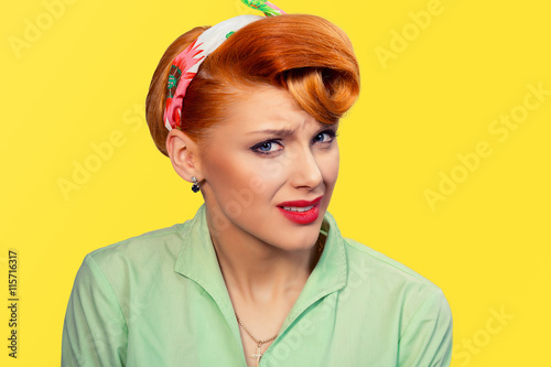Photo  Frustrated woman