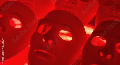 Fototapeta Abstract robot mask