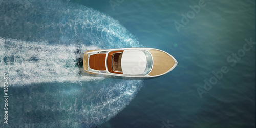Fotografia Speed boat