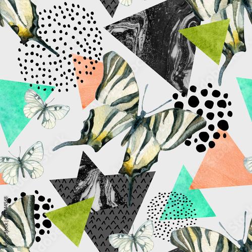 abstrakcyjne-naturalne-tlo-z-motylami