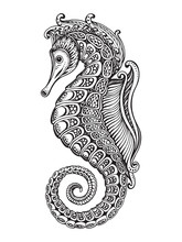 Hand Drawn Graphic Ornate Seah...