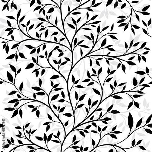 Fototapety, obrazy: tree seamless pattern