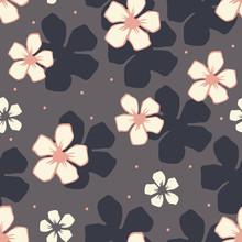 White Cherry Blossom Flowers S...