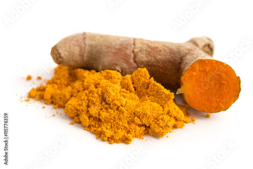 Photo Stands Spices Curcuma