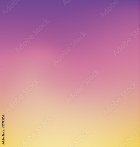 Tender Sunrise Color Smooth Gradient Background Wallpaper Vecto