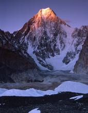 Gasherbrum IV. Gasherbrum IV From Concordia Plateau. Karakorum. Pakistan.
