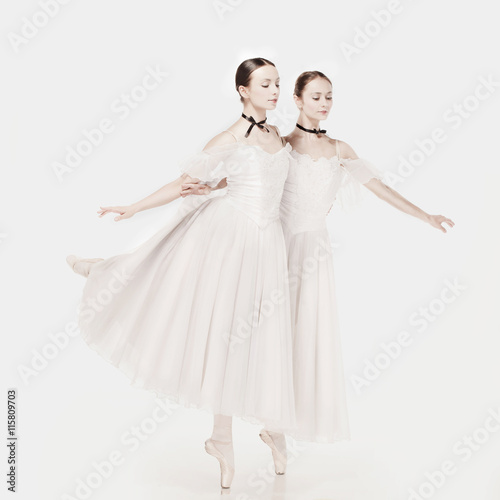 Romantic Beauty. Retro Style ballerinas - 115809703