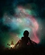 Under The Starry Sky, 3d CG