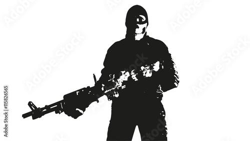 Valokuva  wojownik