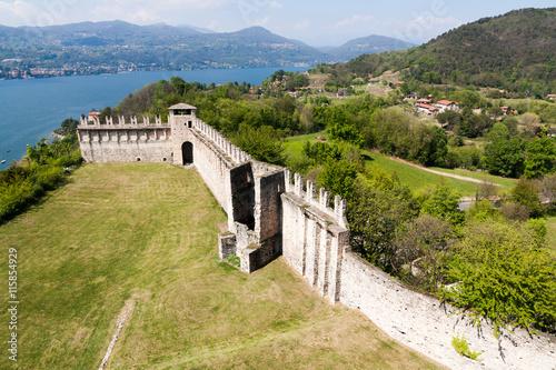 Fotografia, Obraz  Rocca Borromeo di Angera, Angera, Italy