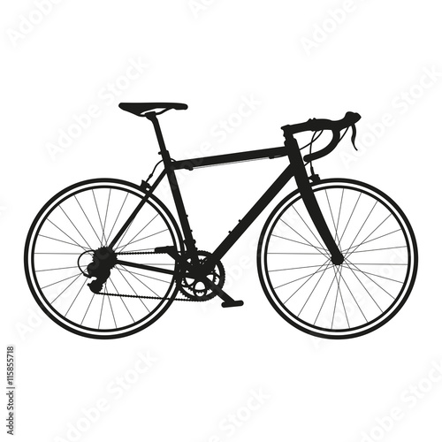 rower szosowy wektor