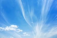 Cirrus Clouds, Natural Blue Cl...