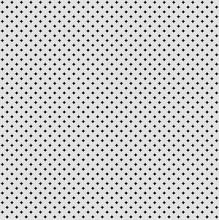 Grey Background, Seamless Geometric Modern Vector Pattern Of Stars